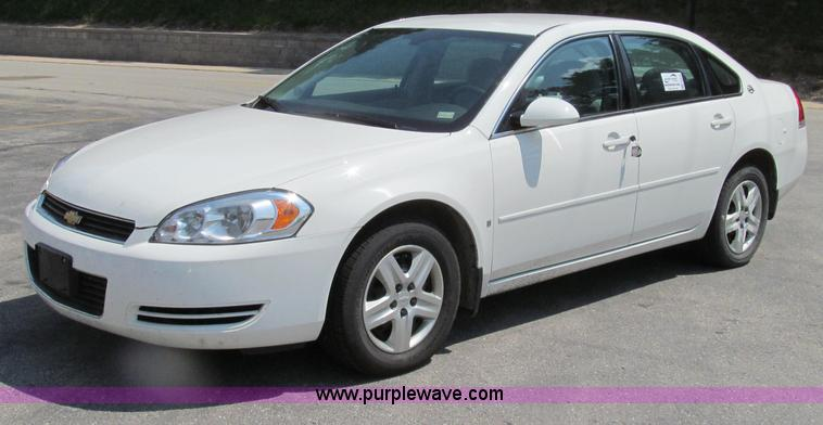 G2078.JPG - 2008 Chevrolet Impala LS , 160,845 miles on odometer , 3 5L V6 OHV 16V FFV gas engine , Automatic tr...