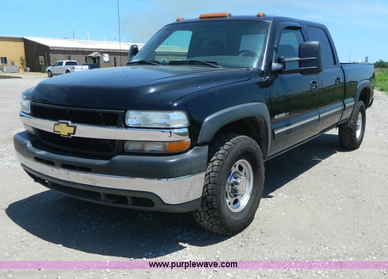 G7911.JPG - 2001 Chevrolet Silverado 2500 HD Crew Cab pickup truck , 192,580 miles on odometer , 8 1L V8 OHV 16V...