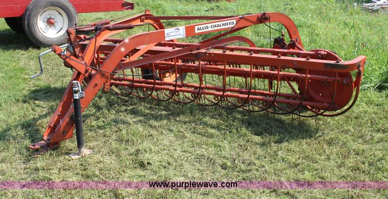 Hay Rake Manual : Allis chalmers side delivery hay rake no reserve auction