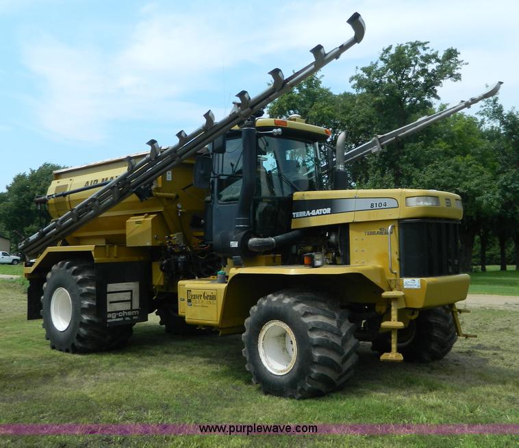 G7985.JPG - 1999 Ag Chem TerraGator 8104 dry spreader truck , 133,612 miles on odometer , John Deere Powertech 8...
