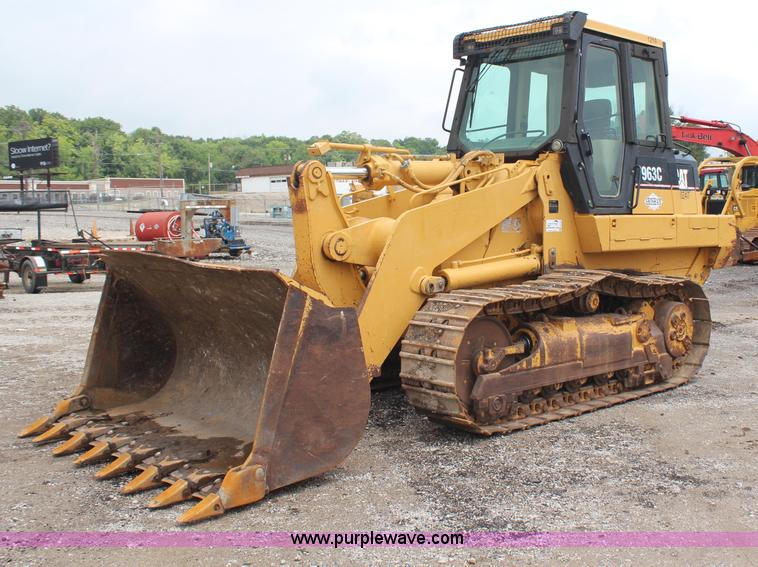 H6726.JPG - 2002 Caterpillar 963C track loader , 6,777 hours on meter , Caterpillar 3116 diesel engine , 160 HP ...