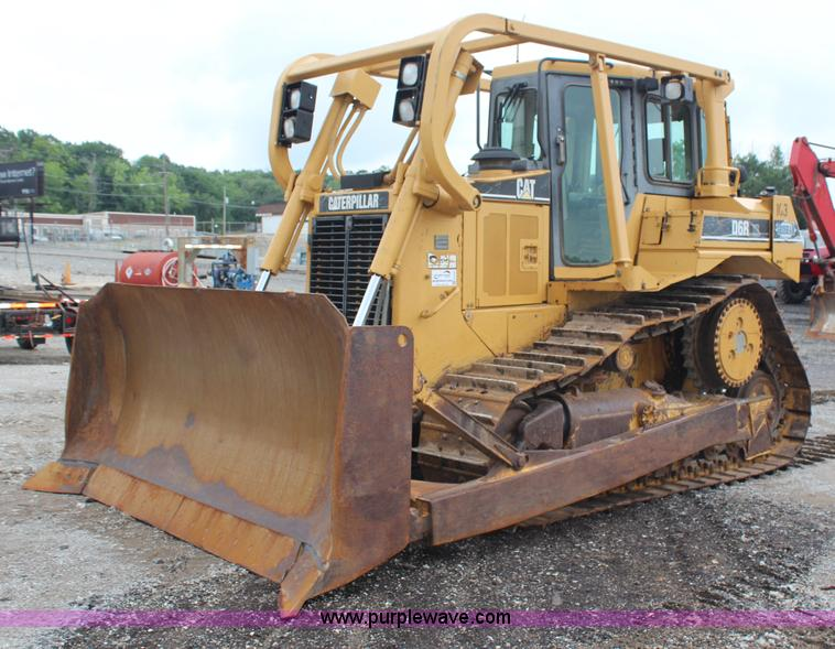 H6739.JPG - 1998 Caterpillar D6R XL dozer , 13,242 hours on meter , Caterpillar 3306 10 5L six cylinder diesel e...