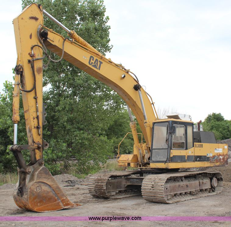 H6524.JPG - 1990 Caterpillar EL300B excavator , 834 hours on meter , Caterpillar 3306T diesel engine , Red Dot A...