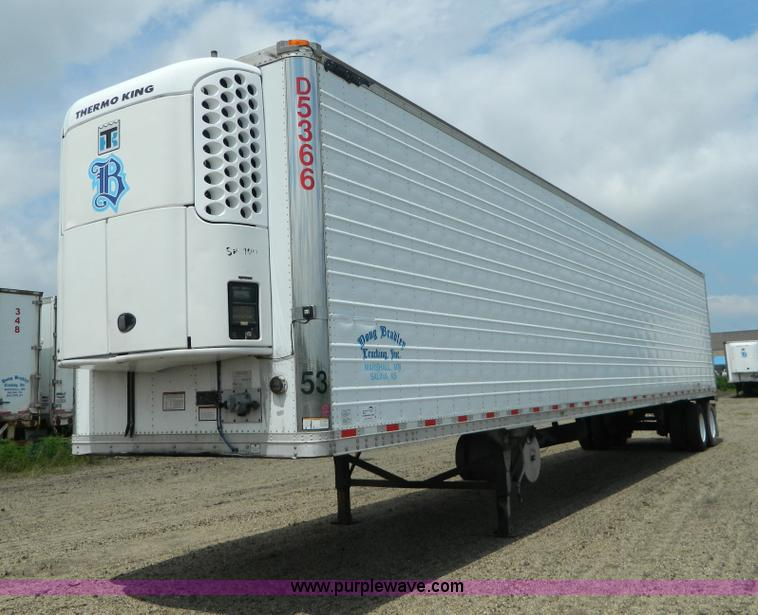 D6010.JPG - 2003 Great Dane reefer trailer , Model 7811TZ 1A53 , 53L x 102 quot W , 24,133 engine hours on meter...