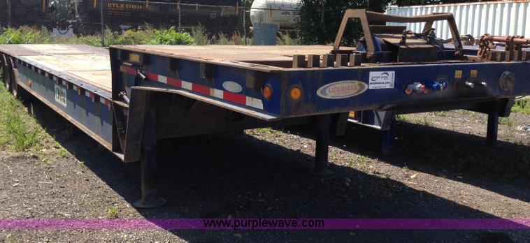 G9248.JPG - 2007 Ledwell LW48HT2 10 PB trailer , 48L x 102 quot W , Hydraulic front platform , Right weigh load ...
