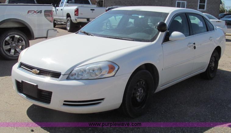 G2090.JPG - 2006 Chevrolet Impala Police , 185,452 miles on odometer , 3 9L V6 OHV 12V gas engine , Automatic tr...