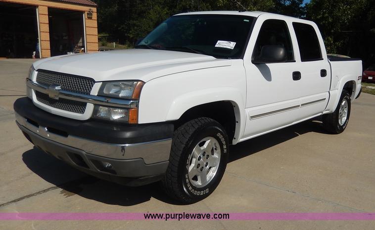 I4333.JPG - 2005 Chevrolet Silverado 1500 Z71 Off Road Crew Cab pickup truck , 141,383 miles on odometer , 5 3L ...