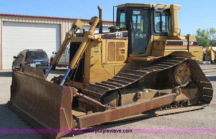 E5194.JPG - 1997 Caterpillar D6R LGP dozer , 13,242 hours on meter , Hours may vary, still in use , Caterpillar ...