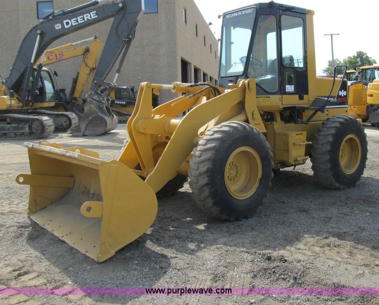 G8993.JPG - 1987 Komatsu WA150 1 wheel loader , 5,412 hours on meter , Six cylinder diesel engine , Model SD695L...