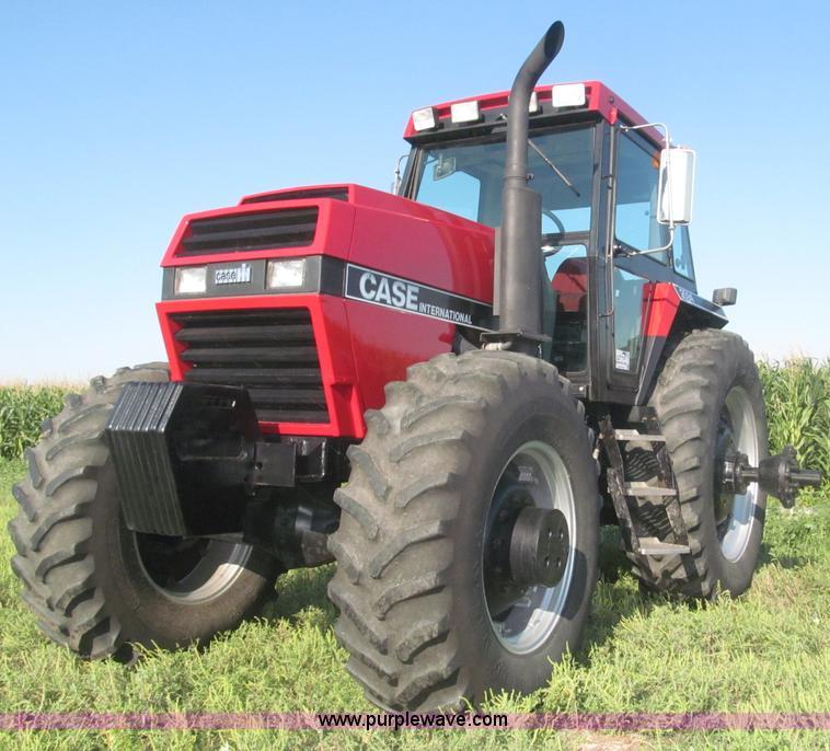 F7090.JPG - 1986 Case 3594 MFWD tractor , 7,724 hours on meter , Case IH six cylinder 8 3L turbo diesel engine ,...
