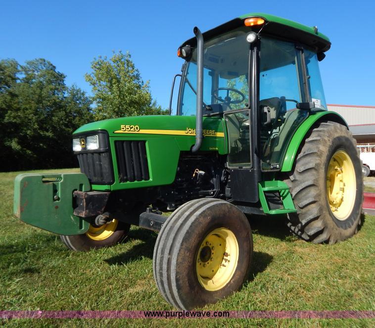 G3494.JPG - 2002 John Deere 5520 tractor , 252 actual hours , John Deere PowerTech 4 5L four cylinder diesel eng...