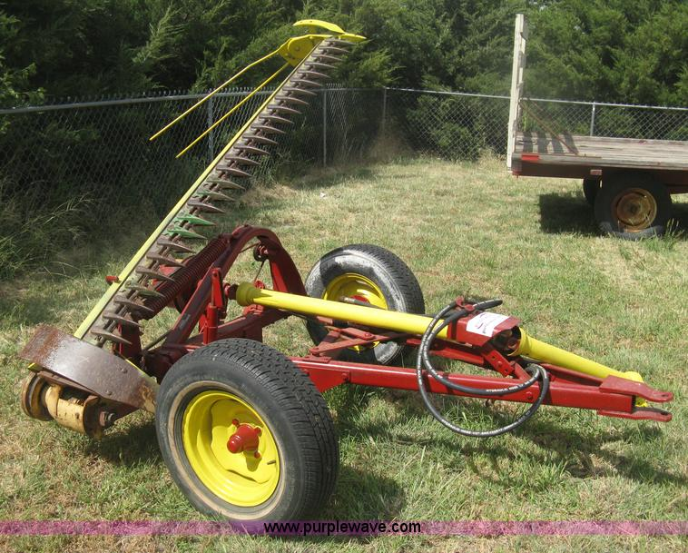 Tractor Pto Lift Bar : New holland sickle mower no reserve auction on
