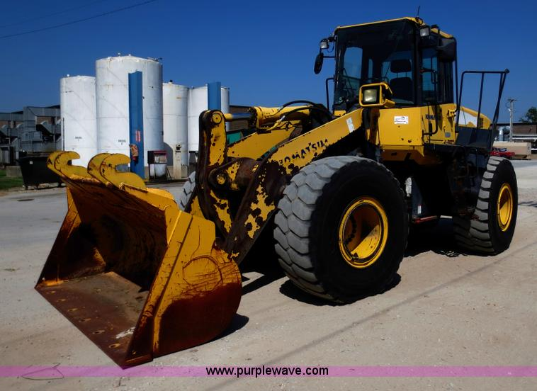 D5953.JPG - 2007 Komatsu WA380 6 wheel loader , 10,831 hours on meter , Six cylinder diesel engine , Four speed ...