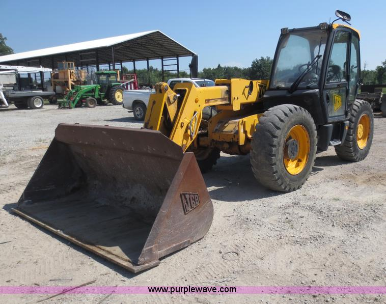 D5954.JPG - 2006 JCB 531 70 telehandler , Four cylinder turbo diesel engine , 100 HP , Four speed powershift tra...