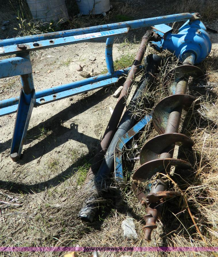 Ford Tractor Auger Parts : Ford post hole digger manual