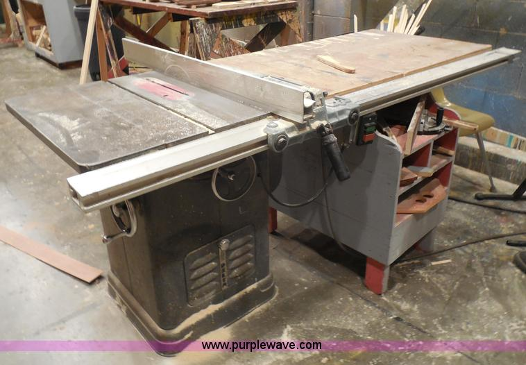 Rockwell 34 450 Table Saw No Reserve Auction On Tuesday
