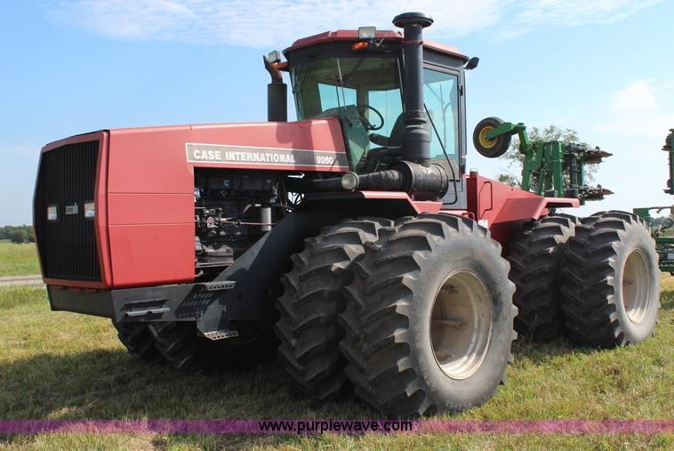 H6690.JPG - 1990 Case IH 9280 4WD tractor , 1,715 hours on meter , Cummins 855 six cylinder diesel engine , 375 ...