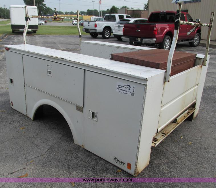 Utility Bed Locks : Kranz utility bed no reserve auction on wednesday