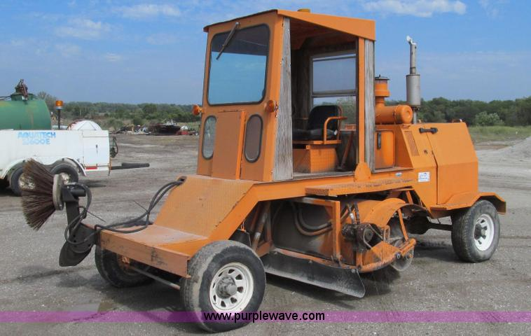 G2106.JPG - Broyce Broom RC300 , 5,254 hours on meter , Cummins four cylinder diesel engine , 76 HP , Serial 442...