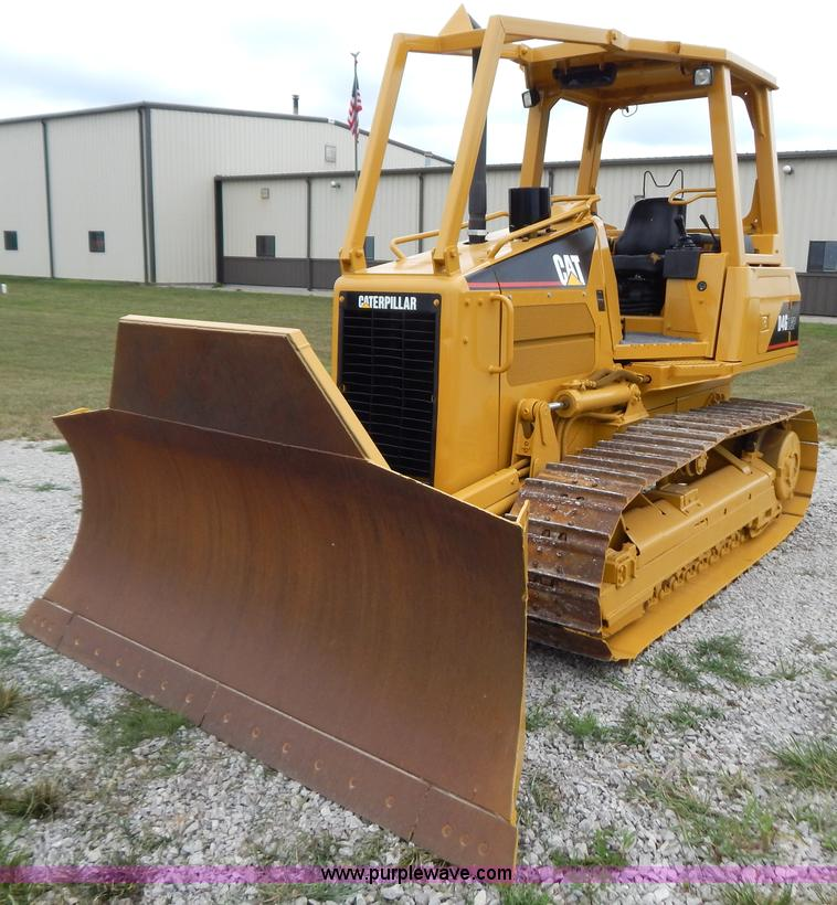 G3373.JPG - 2002 Caterpillar D4G LGP dozer , 979 hours on meter , Caterpillar 3046 diesel engine , Arrangement 1...