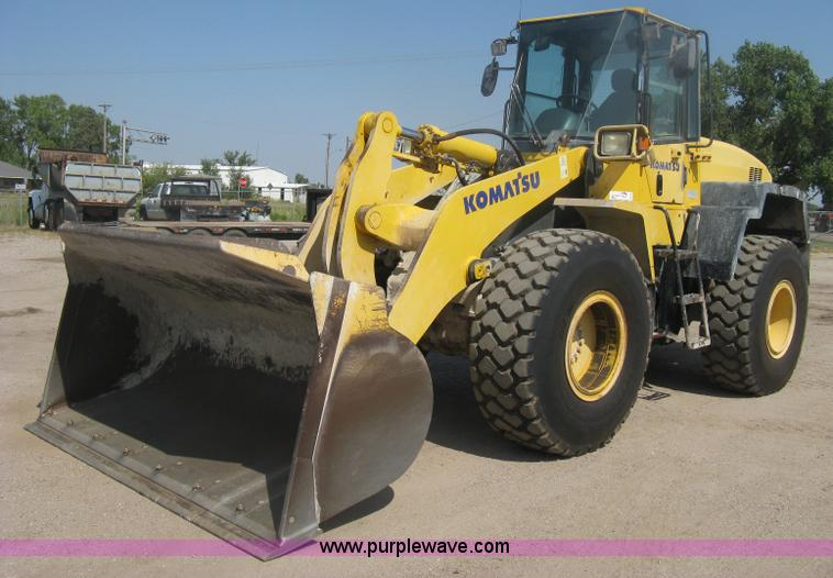 H6414.JPG - 2004 Komatsu WA320 5L Galeo wheel loader , 13,783 hours on meter , Six cylinder diesel engine , Hydr...