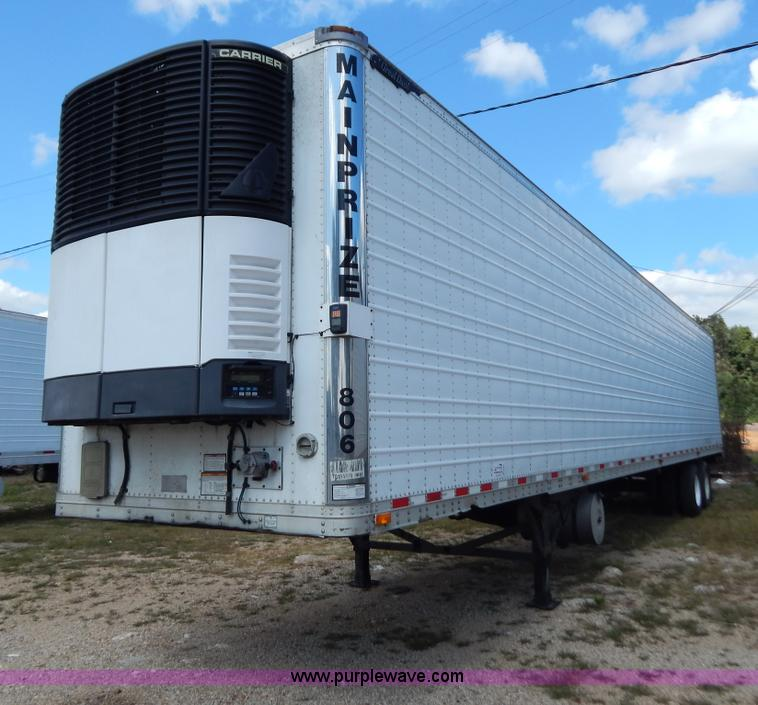 B5881.JPG - 2007 Great Dane 53 reefer trailer , Four cylinder diesel engine , 6,987 hours on meter , Refrigerati...