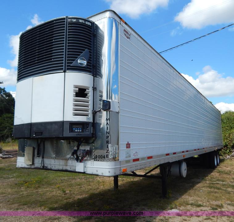B5882.JPG - 2005 Wabash 53 reefer trailer , Four cylinder diesel engine , 20,603 hours on meter , Refrigeration ...
