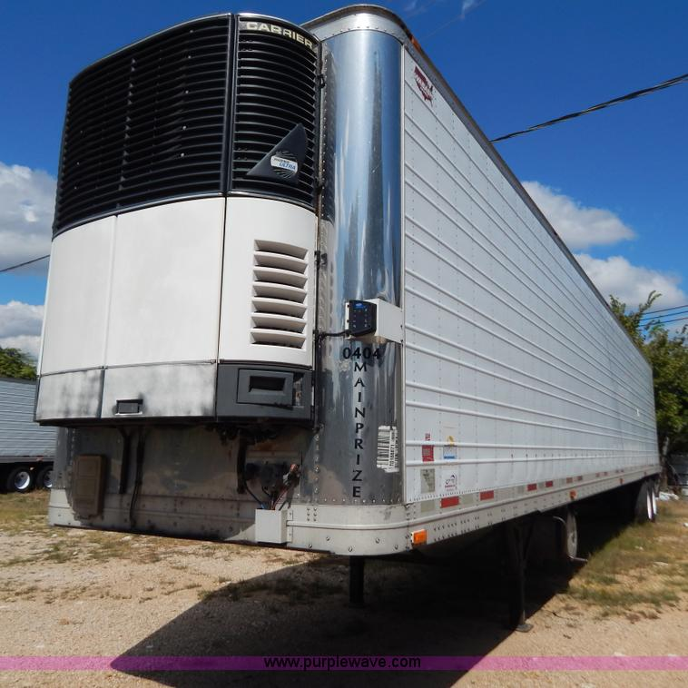 B5883.JPG - 2004 Wabash 53 reefer trailer , Four cylinder diesel engine , 2,518 hours on meter , Carrier Phoenix...