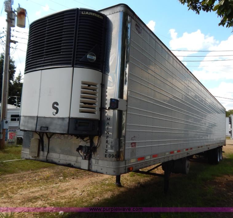 B5884.JPG - 2005 Wabash 53 reefer trailer , Four cylinder diesel engine , 16,638 hours on meter , Carrier Phoeni...