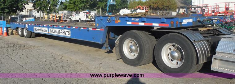 I1331.JPG - 2006 Trail King TK70HST 482 Advantage equipment trailer , 475 quot L x 102 quot W , 9L upper deck , ...