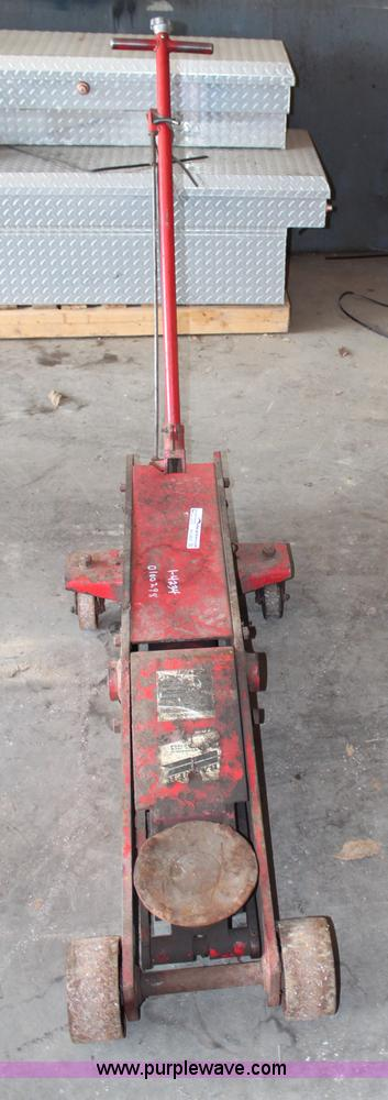 1997 blackhawk 10 ton floor jack no reserve auction on for 10 ton air over hydraulic floor jack