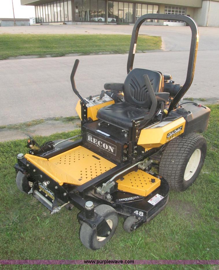 Cub Cadet Lawn Tractor Front Bumper : Cub cadet ah st the recon lawn mower no