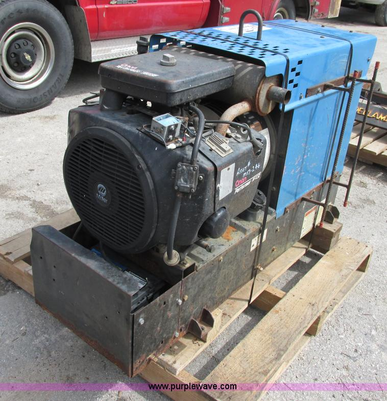 Miller bobcat 225g welder generator no reserve auction - Webaccess leroymerlin fr ...