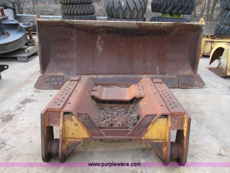 Construction Belly Pan : Scraper push blade no reserve auction on thursday