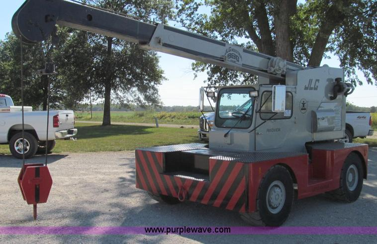 G2120.JPG - 1980 JLG 886D carry deck crane , 3,059 hours on meter , Four cylinder diesel engine , Serial CD4039D...