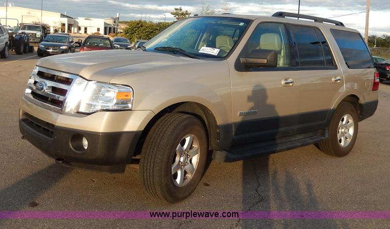 H9631.JPG - 2007 Ford Expedition XLT SUV , 91,877 miles on odometer , 5 4L V8 SOHC 16V gas engine , Automatic tr...
