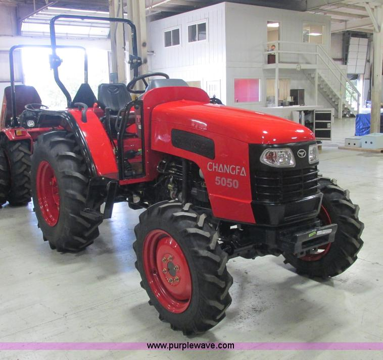 AB9349.JPG - 2012 Changfa 5050 MFWD tractor , 1 8 actual hours , Four cylinder direct injection diesel engine , M...