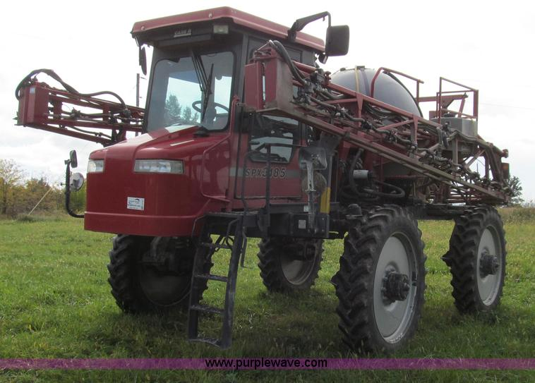 G2157.JPG - 2003 Case IH SPX3185 self propelled sprayer , 4,508 hours on meter , Cummins 5 9L six cylinder diese...