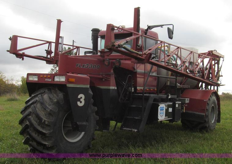 G2159.JPG - 1999 Case IH Titan FLX3300 self propelled sprayer , 39,965 miles on odometer , 3,915 hours on meter ...
