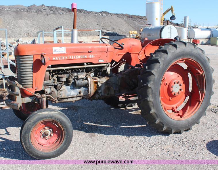1958 Ferguson Tractor Attachments : Massey ferguson tractor no reserve auction on