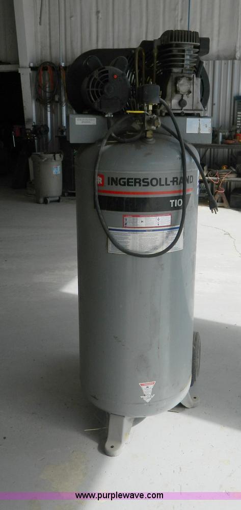 Ingersoll Rand T10 Vertical Air Compressor No Reserve