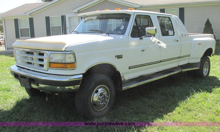 F5322.JPG - 1995 Ford F350 XLT Crew Cab pickup truck , 148,921 miles on odometer , 7 3L V8 OHV 16V turbo diesel ...