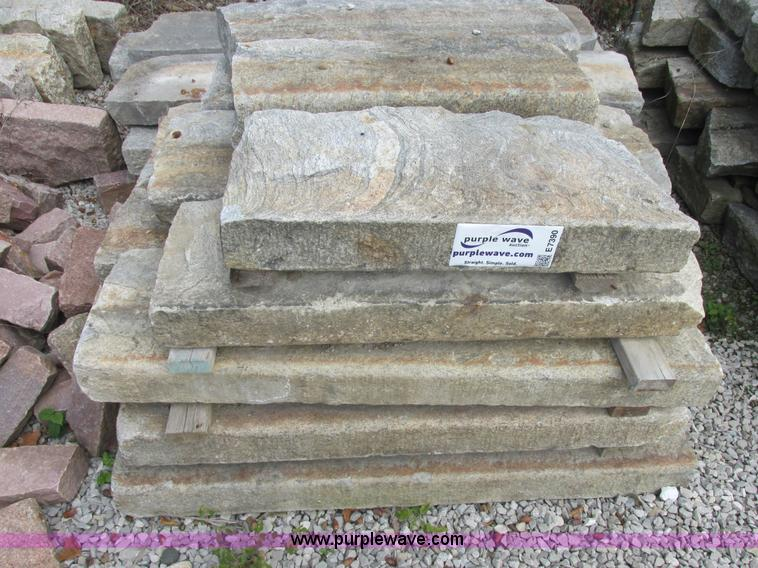 Granite Curb Pricing : Granite curbing slabs no reserve auction on