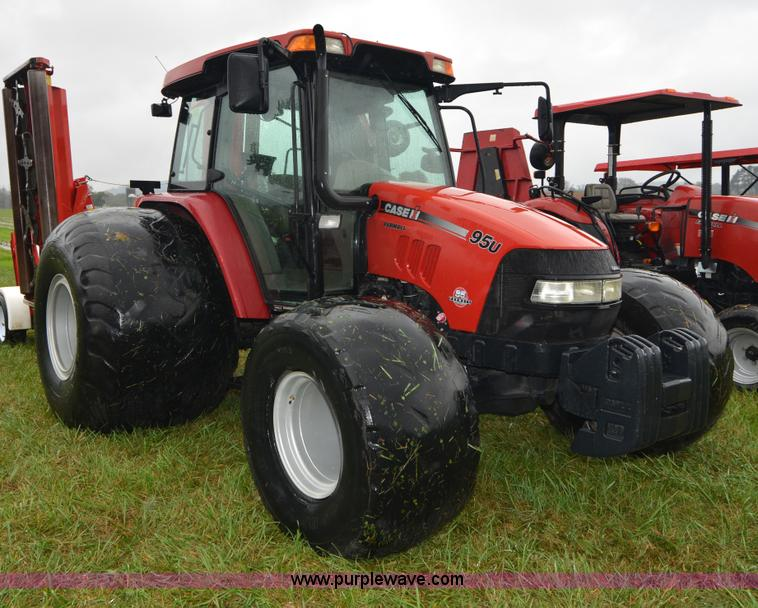 A4957.JPG - 2008 Case IH Farmall 95U MFWD tractor , 954 hours on meter , CNH 445TA MND 4 5L four cylinder turbo ...
