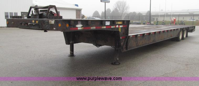 E4622.JPG - 2006 Ledwell LW48HT2 10 PB Hydratail trailer , 48L x 102 quot W , Braden winch , Expanded metal on r...