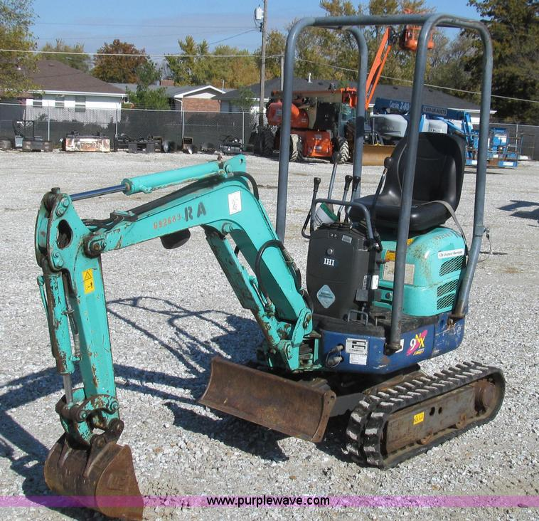 G2169.JPG - 2007 IHI 9NX mini excavator , 912 hours on meter , Yanmar 0 569L two cylinder diesel engine , Model ...