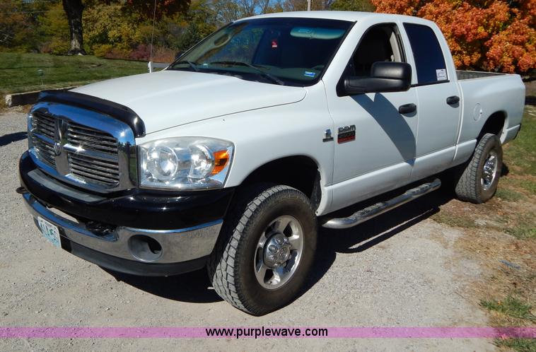 B5950.JPG - 2008 Dodge Ram 2500 Big Horn Edition Quad Cab pickup truck , 193,056 miles on odometer , 6 7L L6 OHV...