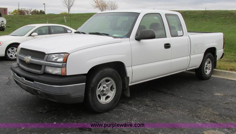 F5371.JPG - 2004 Chevrolet Silverado 1500 Ext Cab pickup truck , 140,916 actual miles , 5 3L V8 OHV 16V FFV gas ...