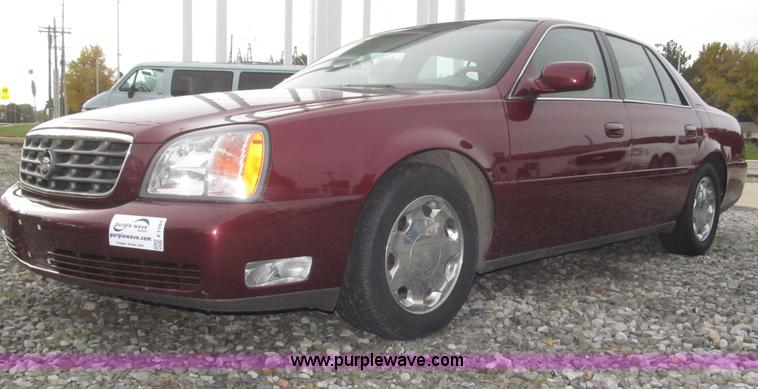 F7184.JPG - 2000 Cadillac DeVille DHS , 135,253 miles on odometer , 4 6L V8 DOHC 32V gas engine , Automatic tran...