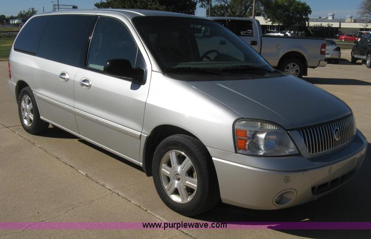 2005 Mercury Monterey van | no-reserve auction on ...